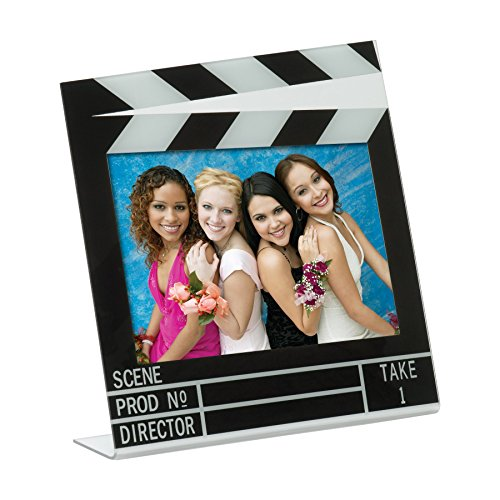 Acrylic Movie Clapboard Photo Frame (6