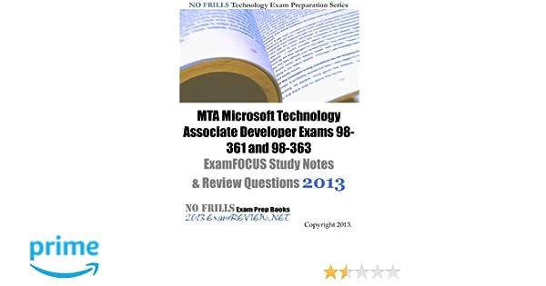 Exam 98-361 Book