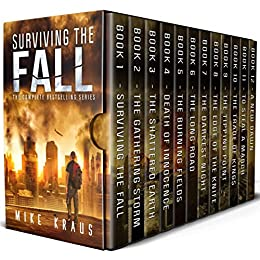 Surviving the Fall Box Set: The Complete Surviving the Fall Series - Books 1-12 by [Kraus, Mike]