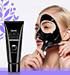 Blackhead Remover Mask, Activated Charcoal Face Mask Peel Off Mask Deep Cleansing Facial Mask … (Black)