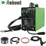 REBOOT MIG-150 Welders Dual Voltage Welder Gas IGBT MIG Inverter Welding Machine MAG