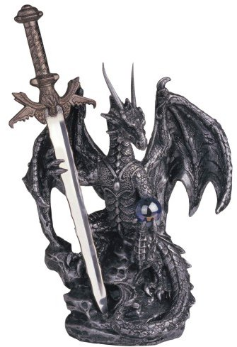 Dragon Collection With Sword Collectible