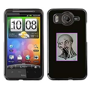 LECELL--Funda protectora / Cubierta / Piel For HTC G10 -- Scream Mad --