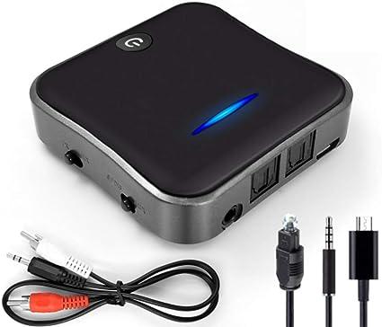Ywt Bluetooth 5 0 Transmitter Receiver Csr8675 Aptx Hd Ll Bt Audio Music Wireless Usb Adapter 3 5mm 3 5 Aux Jack Spdif Rca For Tv Pc Amazon Co Uk Kitchen Home
