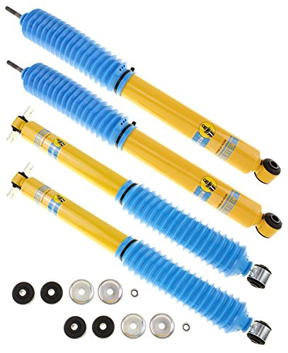 Bilstein 4600 Series Shock Absorbers For Jeep Wrangler & Wrangler Unlimited 2007-14 - Includes Front Shocks # 24-141727 & Rear Shocks # - Jeep Wrangler Shocks