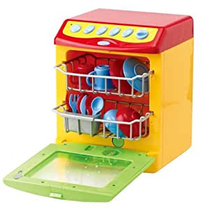 PlayGo 83324 - Lavavajillas de juguete con sonido y efecto lavado
