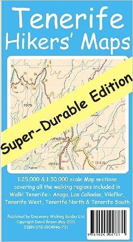 Tenerife Hikers\' Maps Super-Durable Edition: Amazon.de ...