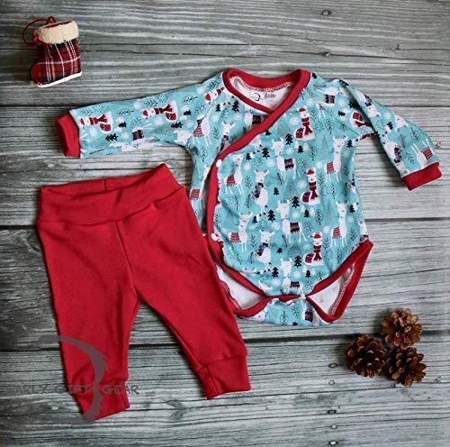0cb3b60f8 Amazon.com: Baby Llama Christmas Outfit | Newborn Clothes | Preemie ...