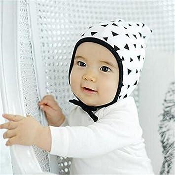 943ba04db51 Amazon.com   Ascentan(TM)Baby Boy Hat Newborn Baby Girl Hat Black White Hat  Toddler Infant Kids Lovely Caps Crochet Hat Newborn Photography Props   Baby