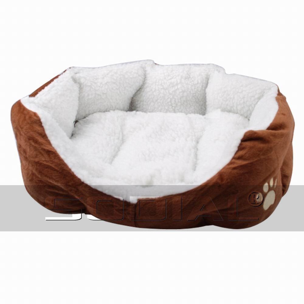 TOOGOO (R) Cama + Sofa Cojin Caliente Comodo para Perro Gato - Color Marron: Amazon.es: Productos para mascotas