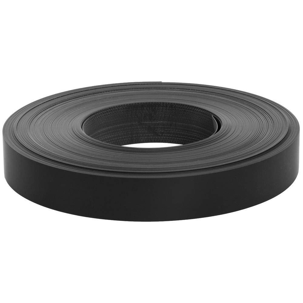 Slatwall Inserts Black Vinyl 130'L Roll