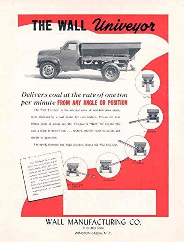 Dump Truck Coal (1947 Wall Studebaker Coal Dump Truck Sales Brochure)