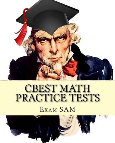 CBEST Math Practice Tests Preparation product image