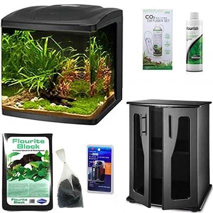 Independent Co2 Nano Glass Diffuser For Plant Aquarium Tank Beautiful In Colour Fish & Aquariums