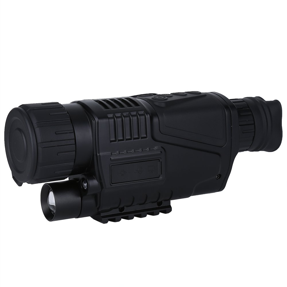 Wal front Handheld Digital IR Night Vision Monocular Camera Video Infrared Telescope Hunting Home Security DV 200 Meter Detection Distance