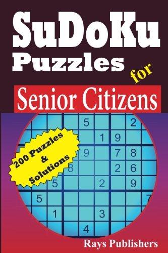 Sudoku Puzzles for Senior Citizens (Volume 1)