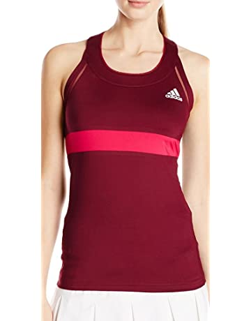 cdc8dcf13f adidas All Premium Womens Tennis Vest Tank Top - Pink