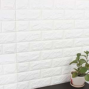 Yazi adhesivo de pared autoadhesivo papel pintado 3d patr n de ladrillo decoraci n espuma de - Papel pared autoadhesivo ...