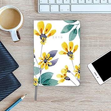 Agenda De Bolsillo 2019 - Takenote Spring - Encuadernación Flexible - Semana Vista - Tamaño 12x16