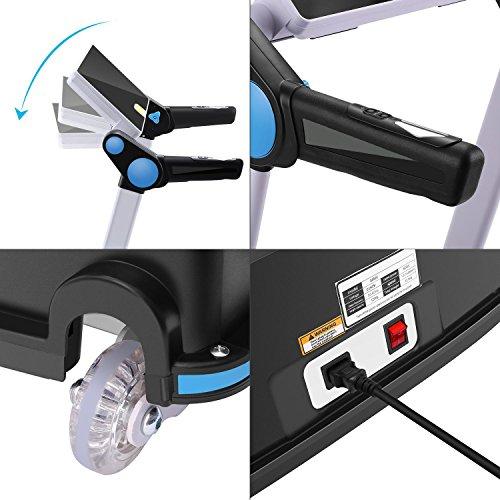 Garain S6400 Folding Electric Treadmill, Bluetooth App Control Touch Screen Exercise Equipment Walking Running Machine Home Fitness Treadmills (US STOCK) by Garain (Image #5)