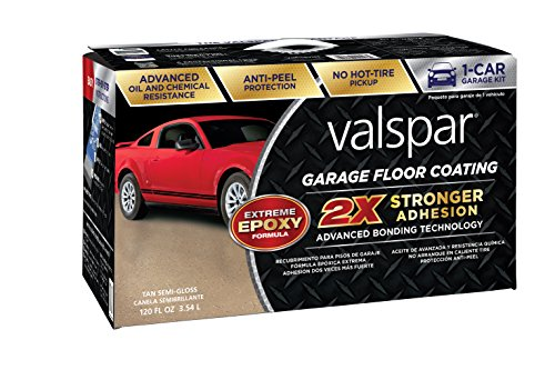 - Valspar (81021) Tan Garage Floor Coating Kit - 120 oz.
