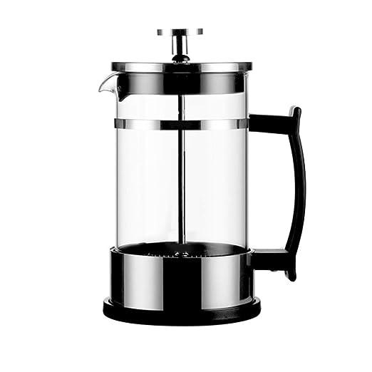 XWSH Cafetera de Vidrio a presión Multiusos, cafetera Lavada a ...