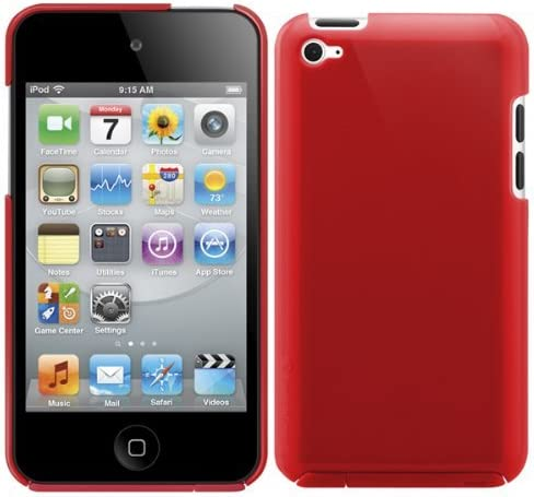 SwithchEasy NUDE State of the Art 1mm Ultra Thin Hard Case for iPod Touch 4G Red