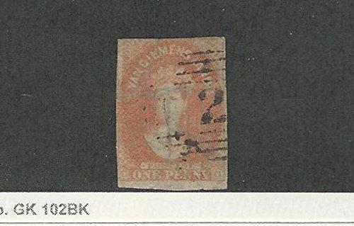 Tasmania, Postage Stamp, 11a Used, 1865