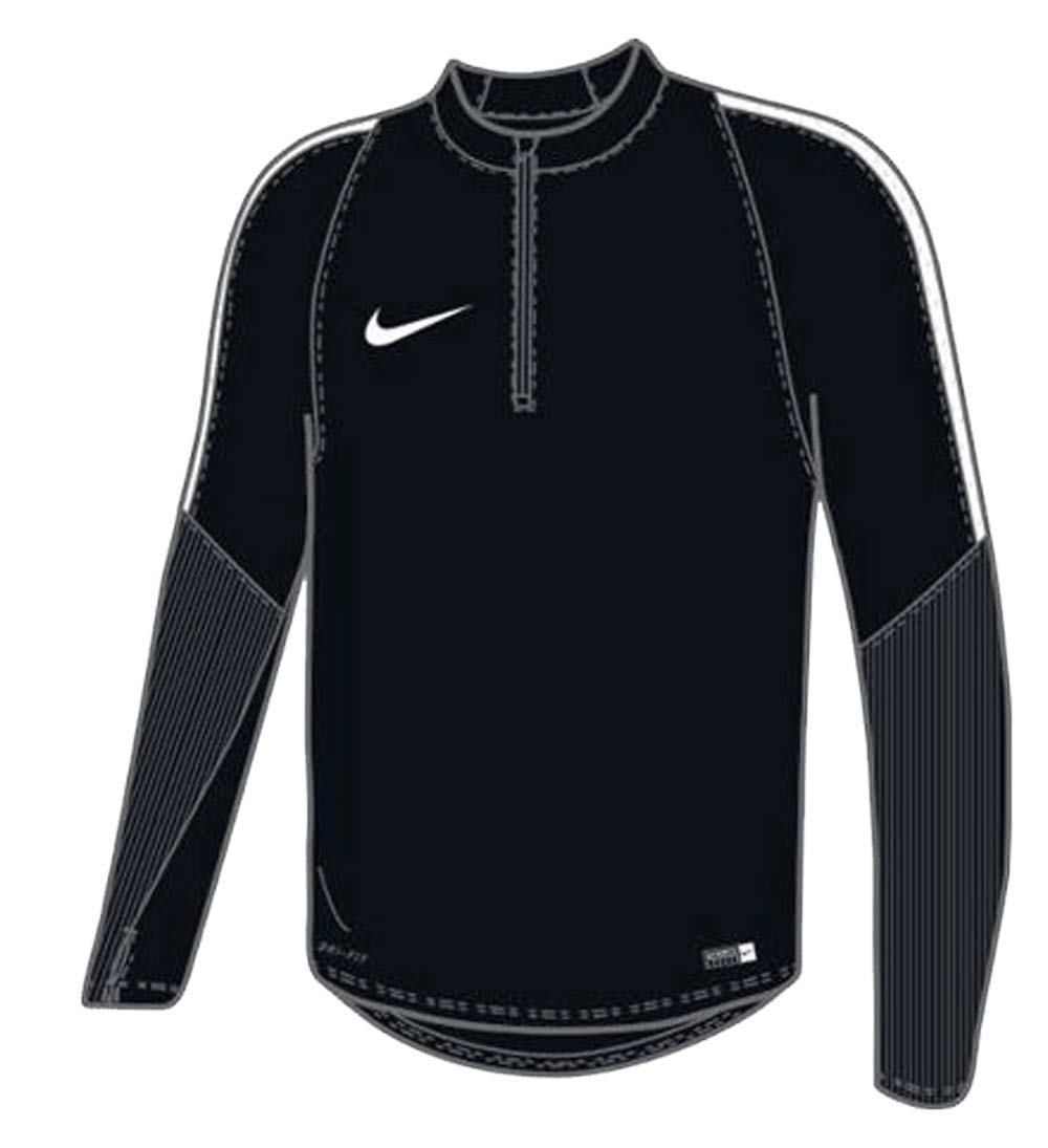 Nike Youth Unisex US Squad Drill Top Jacket Black/White Size Youth Small