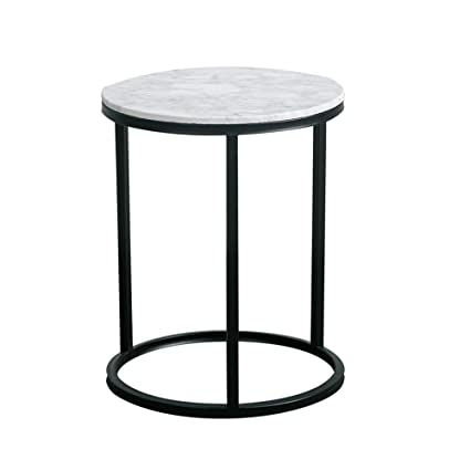 Wrought Iron Round Table.Amazon Com Wynzybz Natural Marble Coffee Table Leisure Wrought