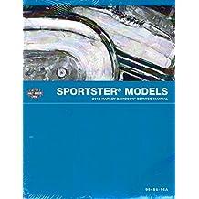 2014 Harley-Davidson Sportster Models Service Shop Repair Workshop Manual, Part Number 99484-14A