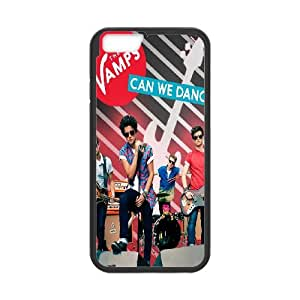 The Vamps iPhone 6 Plus 5.5 Inch Cell Phone Case Black CVXEYERTE34588 Plastic Phone Case For Guys