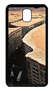 Note 3 Case, Galaxy Note 3 Case, [Perfect Fit] Soft TPU Crystal Clear [Scratch Resistant] City Under The Desert Illusion Creativity Back Case Cover for Samsung Galaxy Note 3 N9000 Cases
