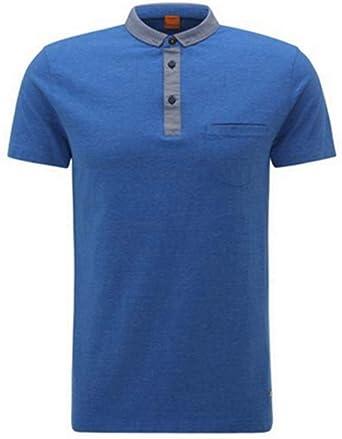 BOSS 10151628 01 Polo, Azul (Bright Blue 436), Large para Hombre ...