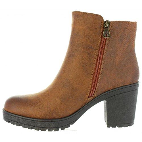 Refresh Stiefel für Damen 63828 C Camel