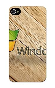 Iphone 5/5s Scratch-proof Protection Case Cover For Iphone/ Hot Wooden Windows 7 Phone Case Kimberly Kurzendoerfer