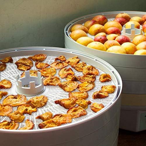 GUCUJI Pack of 5 Premium Non stick Round Silicone Dehydrator Sheets For Fruit Dryer Mesh GUGUJI-JJ-008
