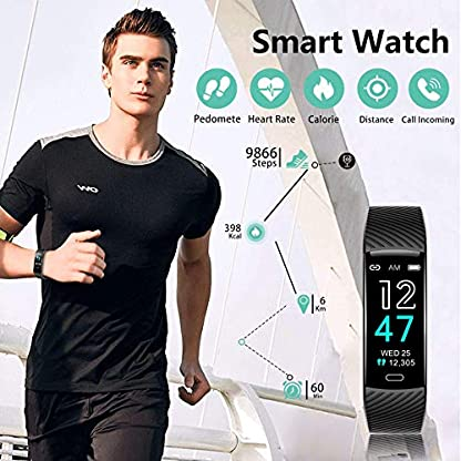 Fitness Tracker - Activity Tracker Watch with Heart Rate and Sleep Monitor, Waterproof Watch with Alarm Clock, Calorie… 6