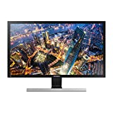 "Samsung LU28E590DS/PE Monitor 28"" LED-Lit UHD 4K, 3840 x 2160, 2 x HDMI, Silver/Black"