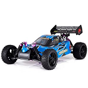 Redcat Racing Shockwave Nitro Buggy, Blue, 1/10 Scale - 51nIb5GlI4L - Redcat Racing Shockwave Nitro Buggy, Blue, 1/10 Scale