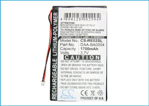 KML Battery Compatible Creative BA20603R79901 DAA-BA0004 fit Model Creative Labs Nomad Jukebox ZenTouch Zen Touch 20GB Zen Touch 40GB