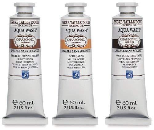 Charbonnel : Aqua Wash Etching Ink : 60 ml : Ultramarine 332393