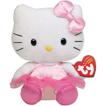 """40991 TY Hello Kitty Beanie Babies CHEERLEADER 8/"""" BRAND NEW with TAGS"""