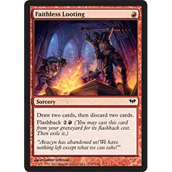 Amazon com: Magic: The Gathering - Faithless Looting