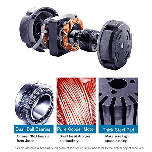 Hon Amp Guan 4 Inch Inline Duct Fan Exhaust Fan Mixed Flow