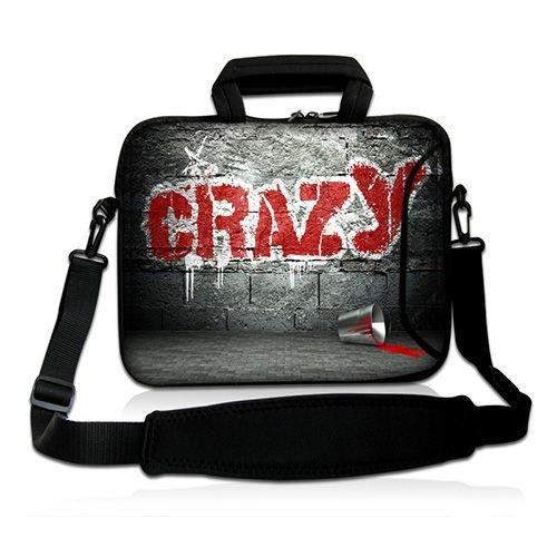 Pedea Design Schutzhülle Notebook Tasche 43,9 cm (17,3 Zoll) mit Schultergurt graffiti