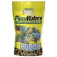 Tetra PRO PlecoWafers para comedores de algas, 5.29 onzas