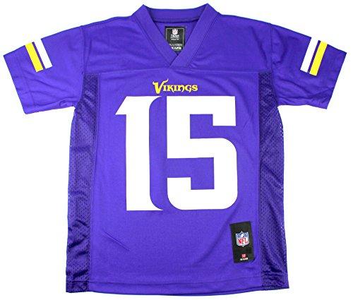 Greg Jennings Minnesota Vikings #15 NFL Youth Mid-tier Team Jersey (Youth Large (Greg Jennings Jersey)