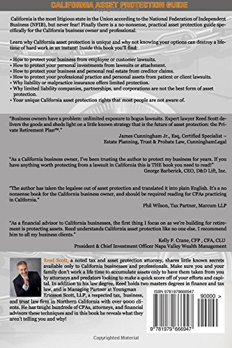 California Asset Protection Guide: (The NON-Legalese