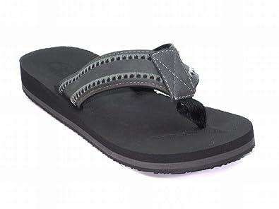40d25582afa5 Blue Suede Shoes Comfort Trend Mens M-Maxus Sandals- Grey Size 9